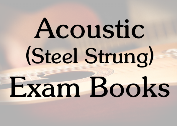 Acoustic Guitar Exam Books